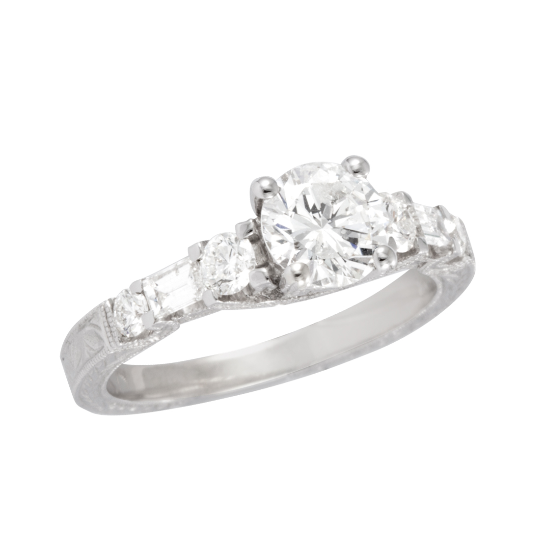 kaystore zm engagement diamond mv gold tw ring round white hover cut to en zoom kay ct rings