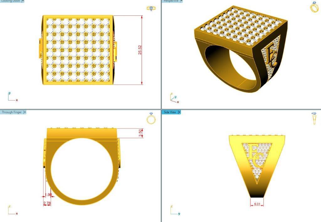 Custom jewellery design services h williams jewellery for Custom design services
