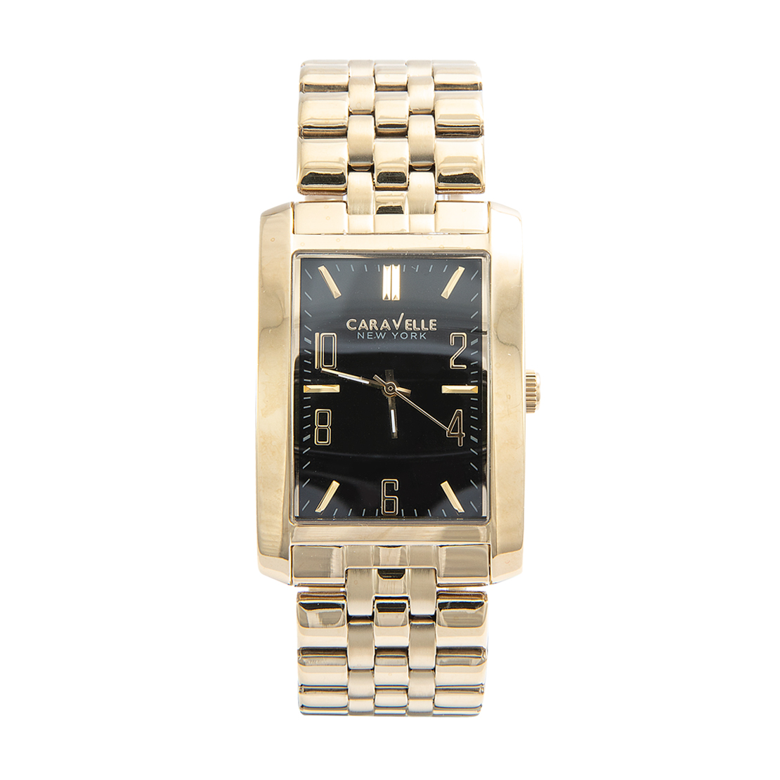 Caravelle Gold and Steel Watch