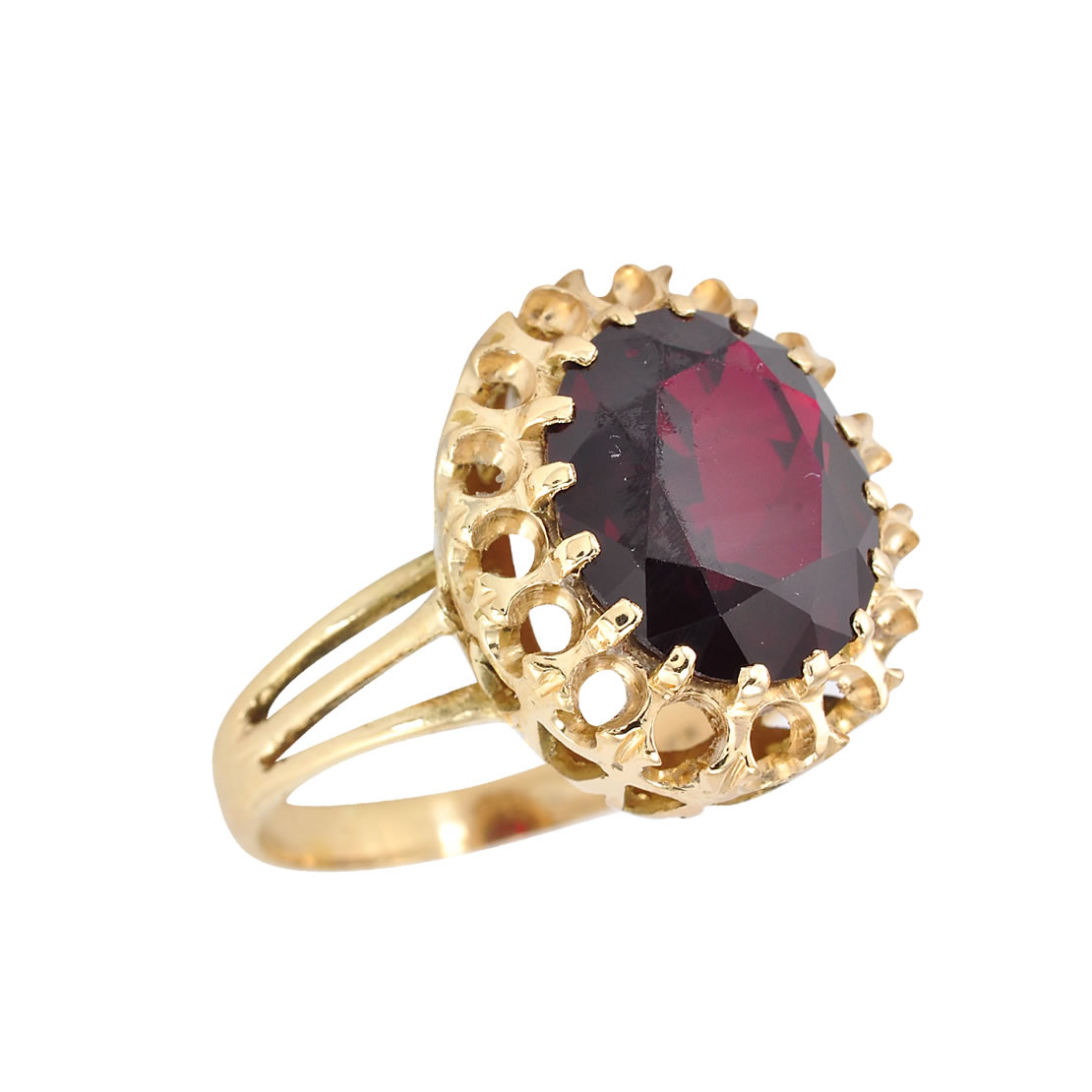 18k Gold Stone Ring