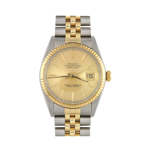 Rolex Stainless Steel and 18kt Gold Watch