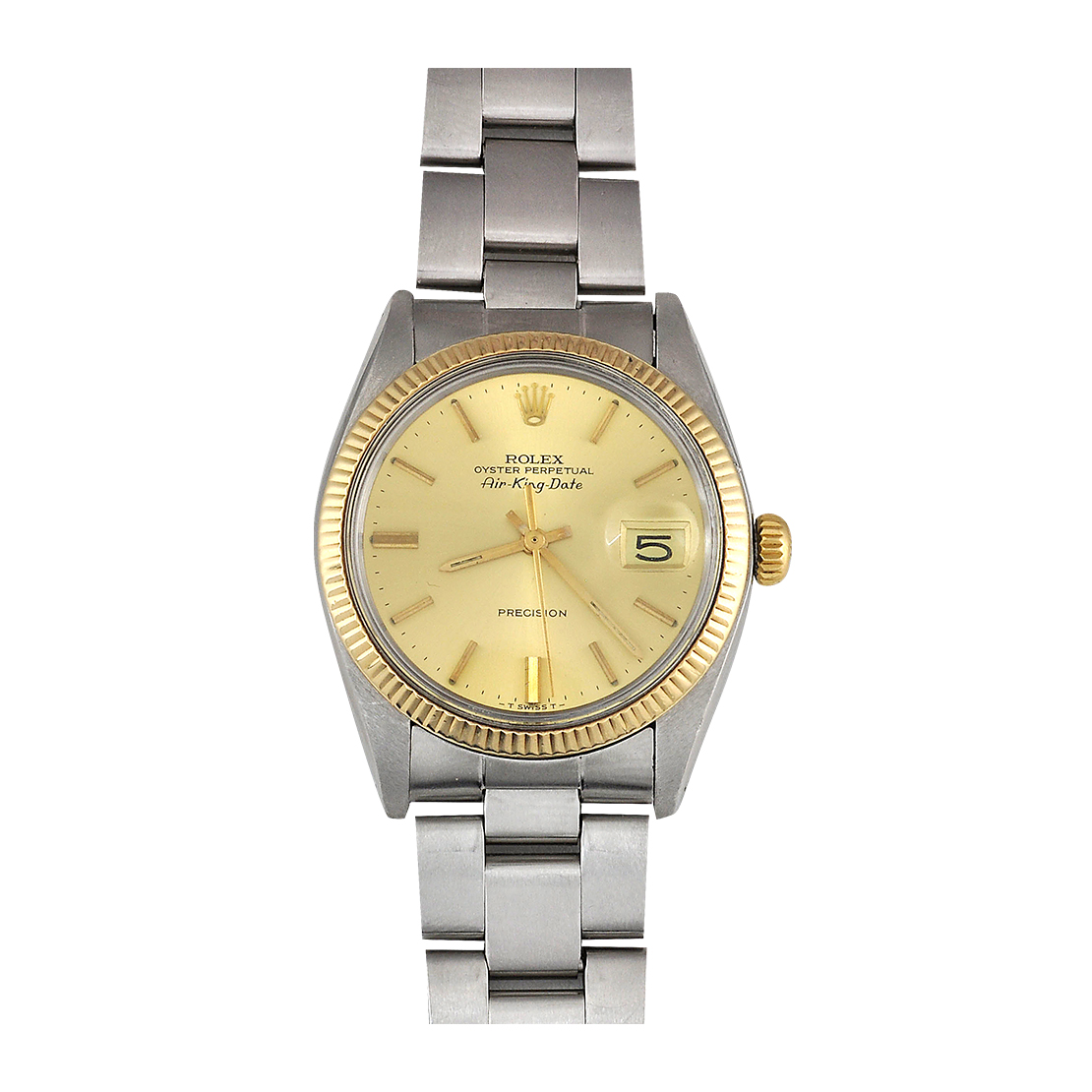 Rolex Gold and Stainless Steel Watch