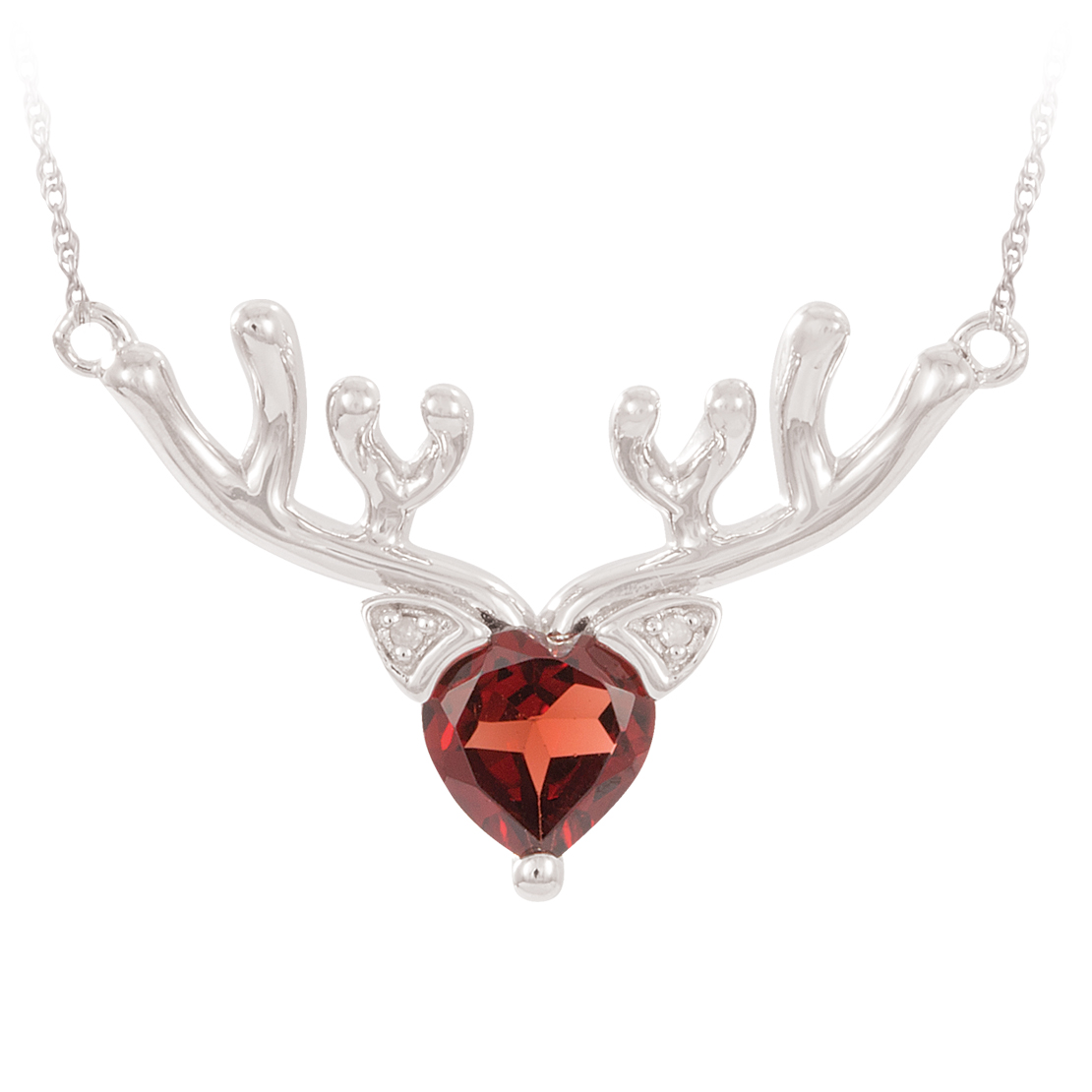 Rudolph Silver and Garnet Pendant