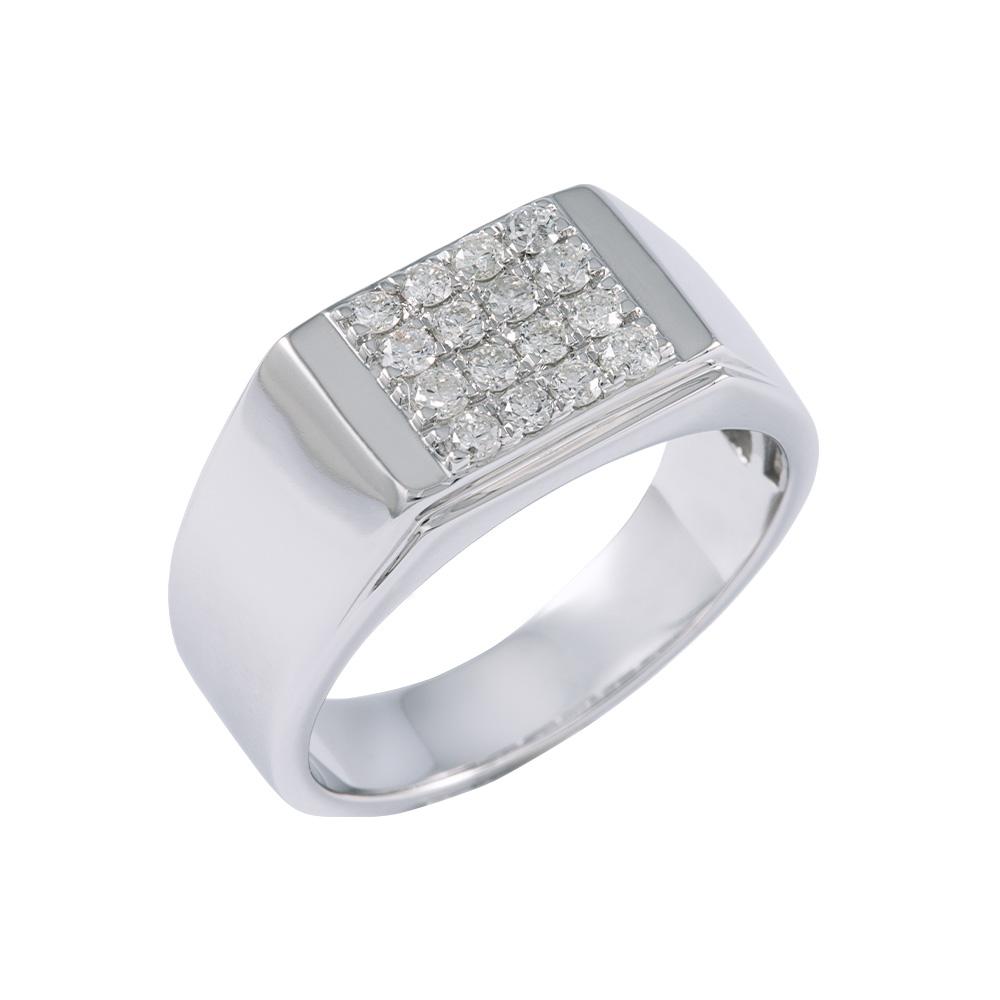 Square Top Diamond Ring
