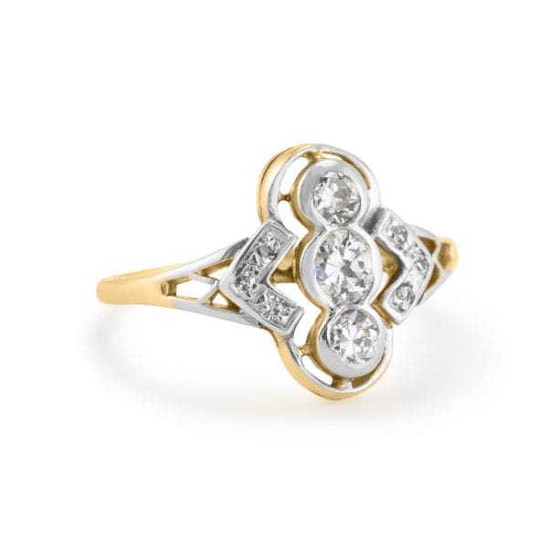 Gents' Gold Diamond Ring