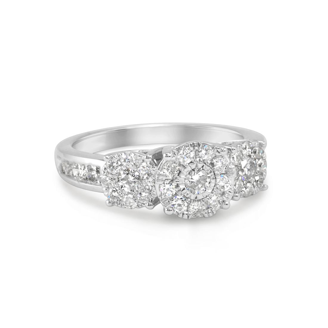 Ladies' Invisible Set Diamond Ring